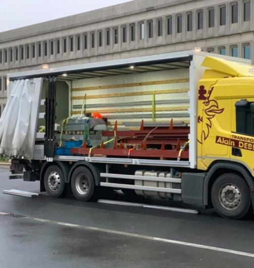 Transport avec manutention Namur