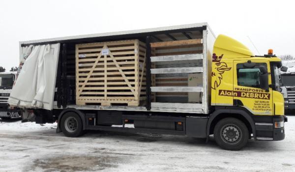 Malgré le coronavirus les Transports Debrux continuent à effectuer vos transports.